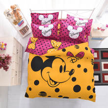 Home textile,Reactive Print bedding sets luxury include Duvet Cover Bed sheet Pillowcase,Full size bedding set for kids.