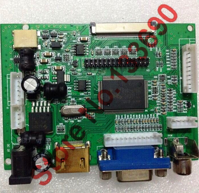 Lcd-Controller-Board HDMI 1080P VGA Support And AV Up-To-1920x1080