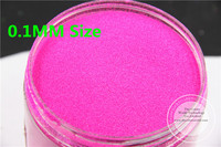 TCF510 Neon Rose Carmine Colors 0 1mm Size Solvent Resistant Glitter For Nail Art Nail Polish