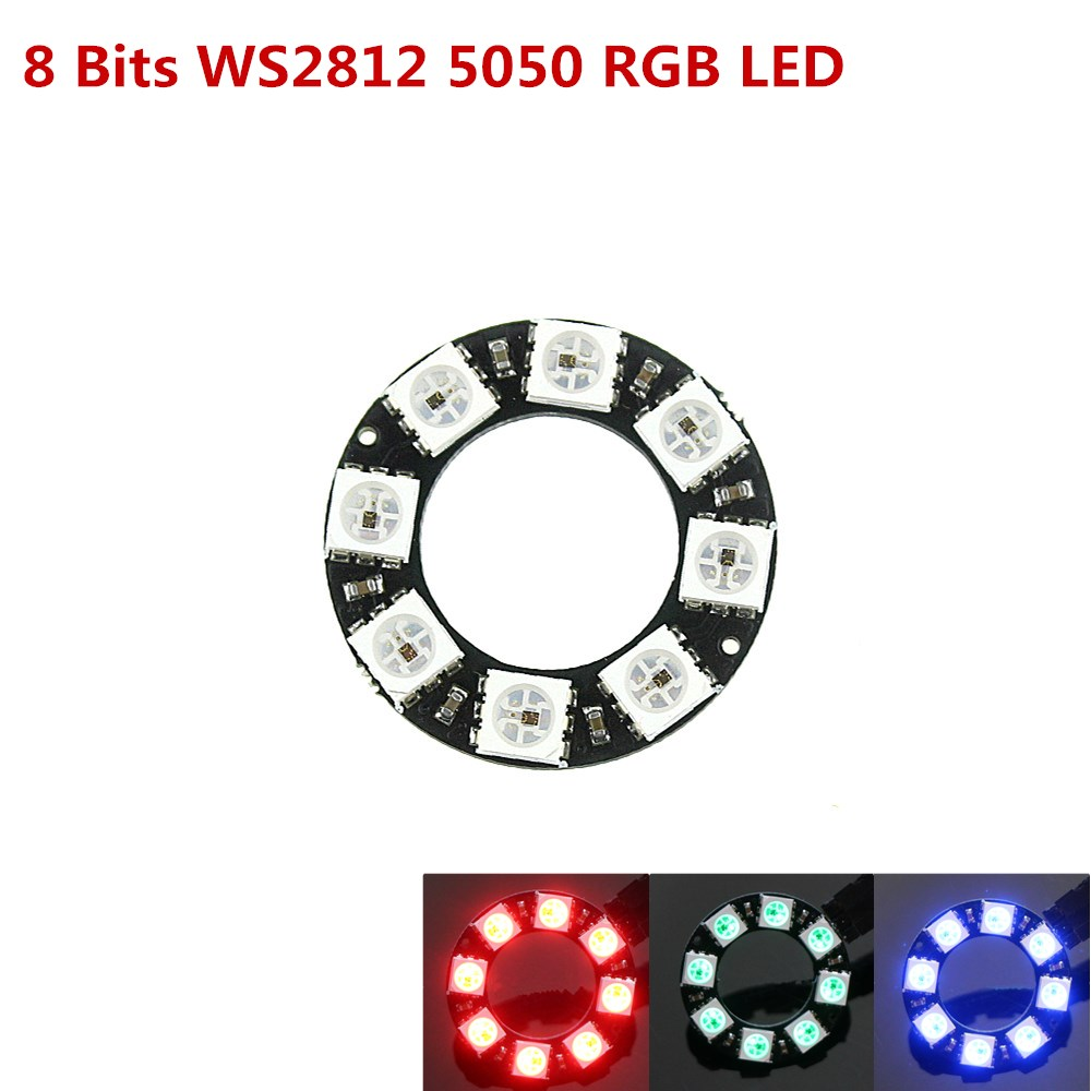 Utility Knife 5050 12-bit Rgb Led Ring Ws2812 Round Decoration Bulb Perfect For Arduino Promotion With The Most Up-To-Date Equipment And Techniques Bright