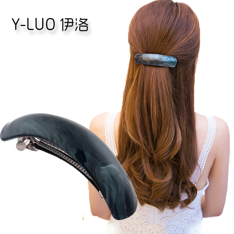 Women hair ornaments vintage hair styling barrettes large cute hair clip for girls professional hair accessories for women