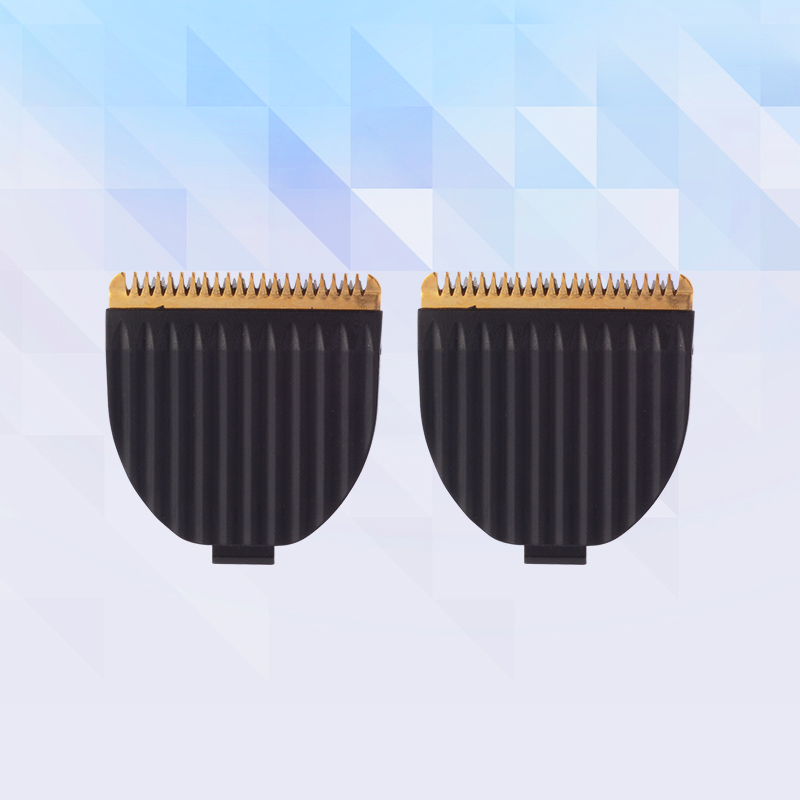 2 Pcs Hair Clipper Blade Hair Trimmer's Head Stainless Steel Knife Suit For Kemei KM-605 And KAIRUI HC-001 Washable Cutter