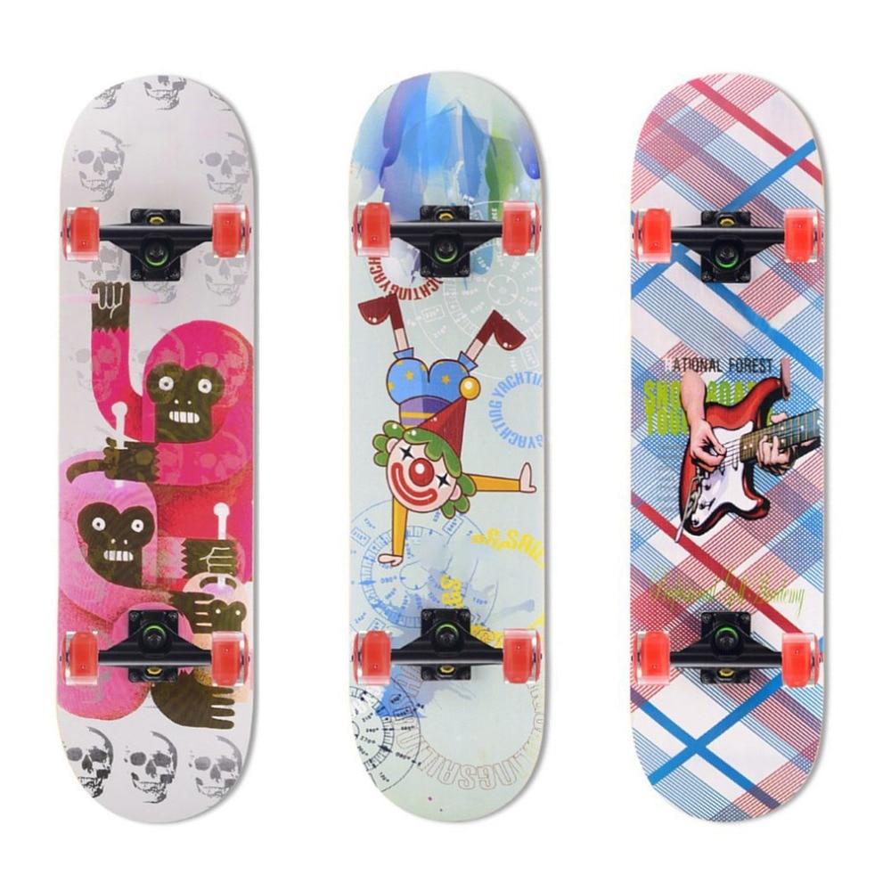 ᑎ‰OUTAD 2018 Arce luminoso de cuatro ruedas Skate Board impermeable ...