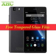 D'origine 3G DOOGEE X5 5.0 pouce Android Smartphone MT6580 Quad Core 1 GB + 8 GB 1280X720 2400 mAh Batterie Dual SIM Mobile téléphone