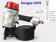 Alta qualidade dongya bobina nailer cn70 coil prego armas, nailer bobina industrial para a pálete que faz a pistola de ar