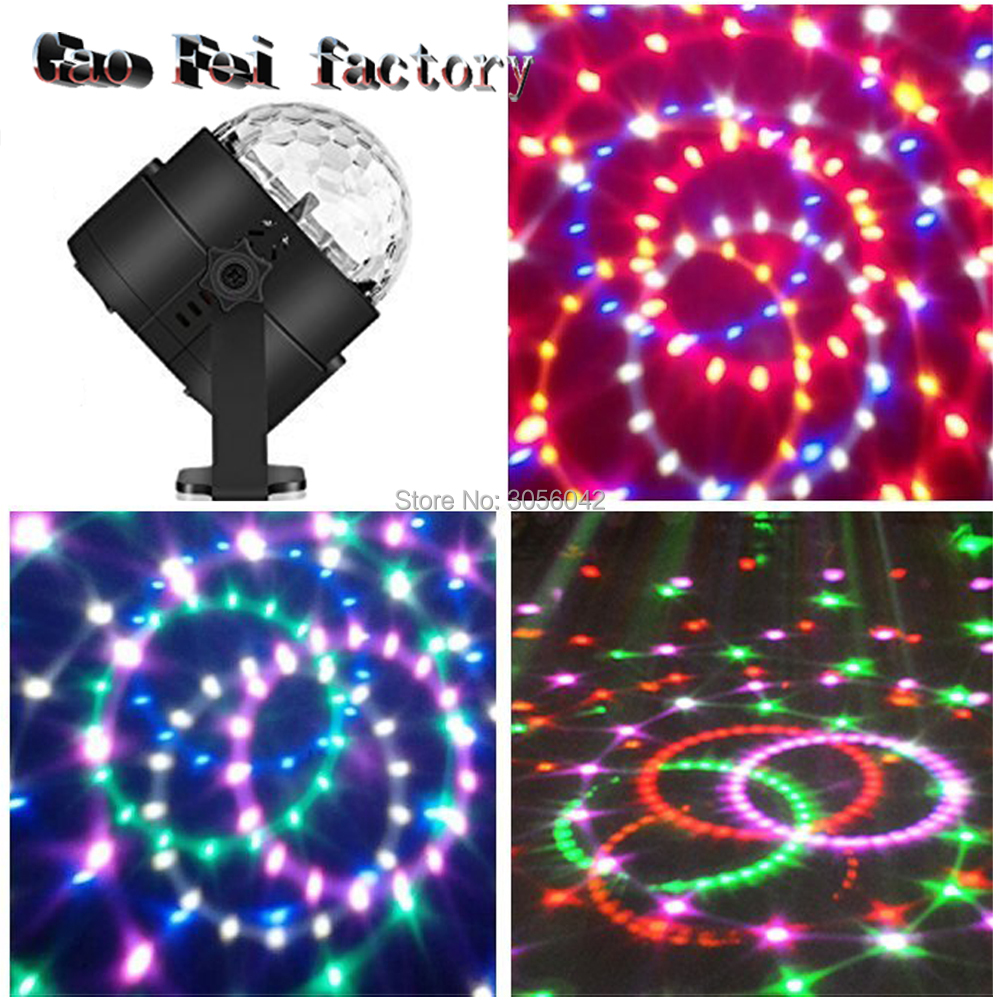 IR Remote Control Mini RGB 3W Crystal Magic Ball Led Stage Lamp DJ KTV Disco Laser Light Party Disco Club DJ Light ShowIR Remote Control Mini RGB 3W Crystal Magic Ball Led Stage Lamp DJ KTV Disco Laser Light Party Disco Club DJ Light Show