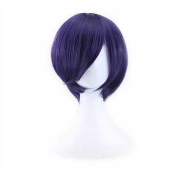 Tokyo Ghoul Touka Kirishima Wig Cosplay Costume Kirishima Toka Women Short Synthetic Hair Halloween + Wig Cap - DISCOUNT ITEM  20 OFF All Category