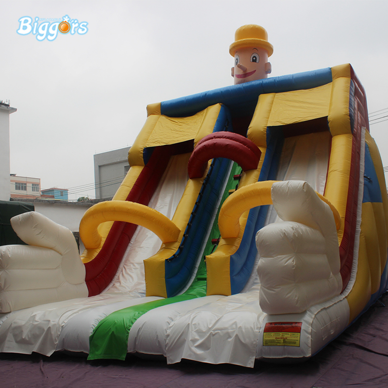 Kids Inflatable Water Slide PVC Inflatable Dry Slide Amusement Commercial Inflatable Slide цена