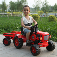 Unisex Electric car for kids ride on four wheel tractor Dongfanghong engineering toy car electric kids cars
