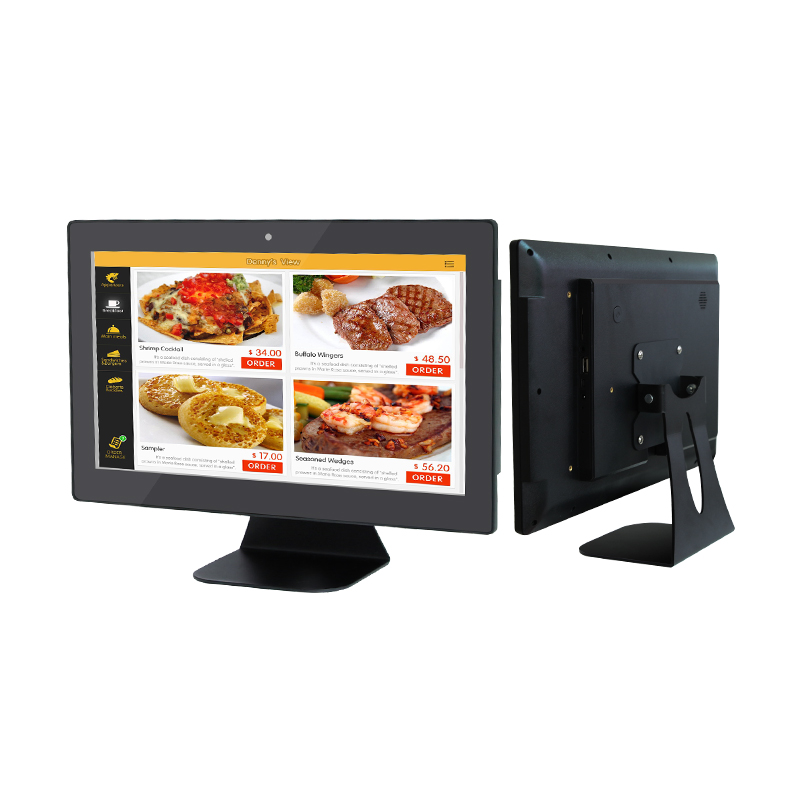 13.3 Inch Capacitive Multi Touch Outdoor ATM Monitor Inwall Touch Screen