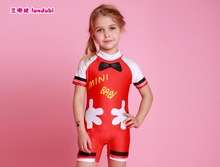 Good Quality Top Bikini 2016 Swimsuit One Piece Swimwear Girls Children Bathing Suit Kids Swimming Suit