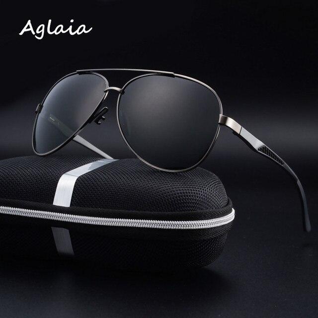 2016 поляризованных солнцезащитных очков алюминиево-магниевый сплав человек поляризованные очки Солнцезащитные Очки солнцезащитные очки цветную пленку