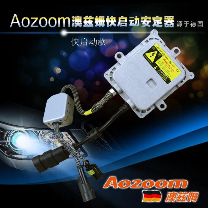 цена на Fast Bright HID Digital Ballast AOZOOM Brand AC 35W Xenon Ballast Fast Start German