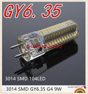 DIMMABLE GY6.35 LED Lamps 12V 110V 220V 9W 12W 15W Corn Light Bulb Droplight Chandelier 3014SMD 104/Led Bombillas Lamp(China)