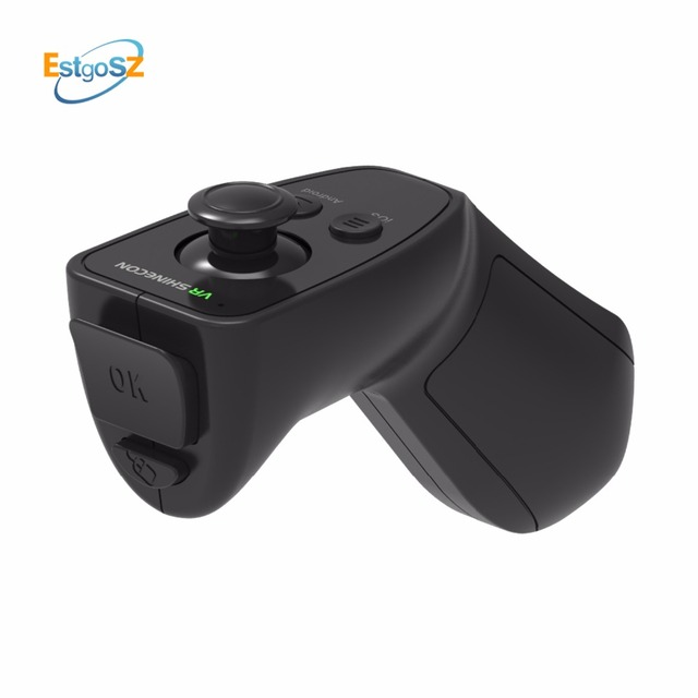 US $8 99 30% OFF|Aliexpress com : Buy EStgoSZ 3D VR Remote Wireless  Bluetooth 3 0 Remote Controller Support for iOS Android Gaming virtual  Gamepad