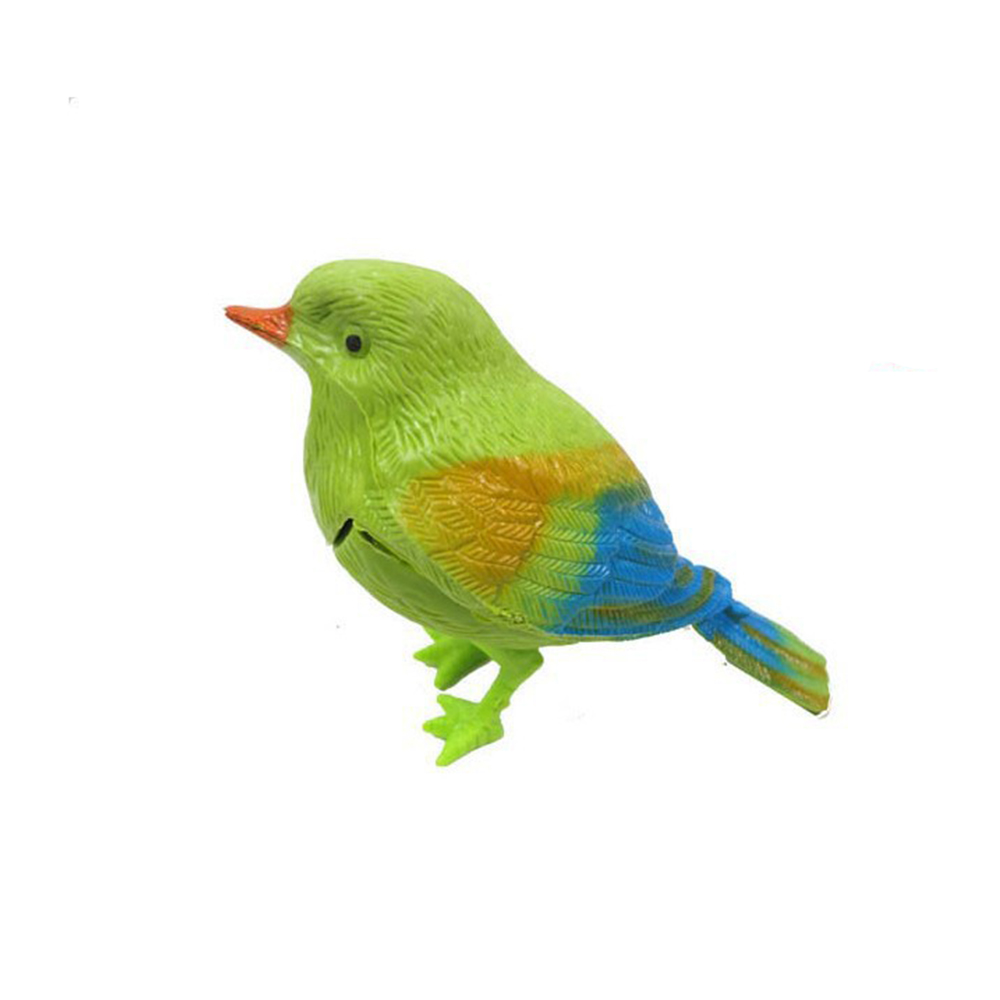 New Popular Creative Pretty Cute Funny Sound Voice Control Activate Toy Gift Chirping Interactive Electronic Singing Bird