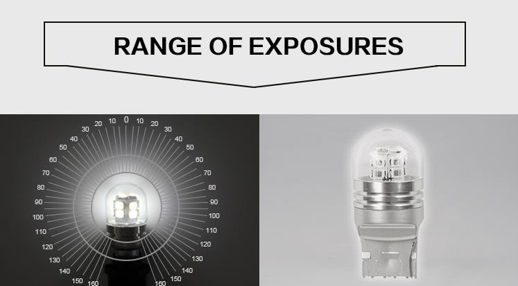 El más nuevo T20 7443 Bombillas de automóviles LED Frontal trasero - Luces del coche - foto 4