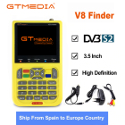 DVB-S2 V8 Finder HD Digital Satellite Finder W SatFinder MPEG2 MPEG4 with 3000mA Battery FTA Sat finder