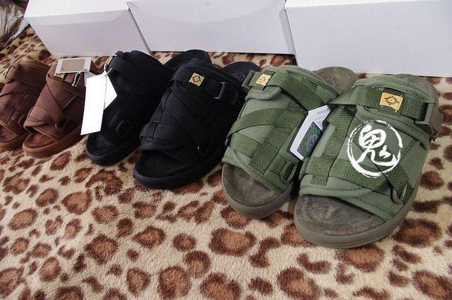 3cb0d6d7e8a free shipping Visvim christo f . i . l limited slippers 2013 3 black ...