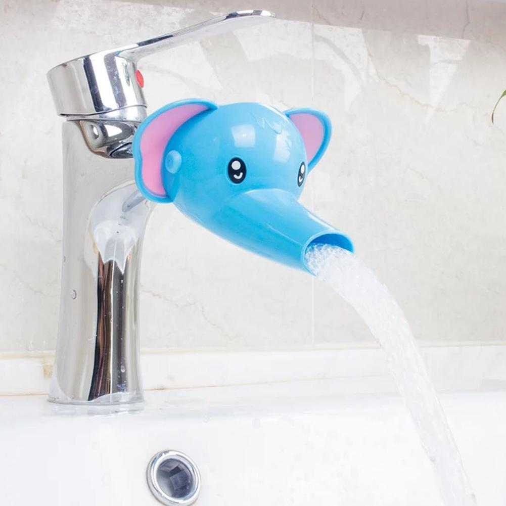 Cute Animal Sink Tap Toddler Extender Wash For Kids Children Hand Washing Bathroom Kitchen Water Faucet Extension Freeshipping