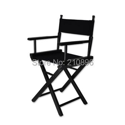 Bois Couleurs Chaise Et Portable Aluminium Plus En kaki Pliage Noir Pliable Directeur Noir Petite Maquillage qgwZt7