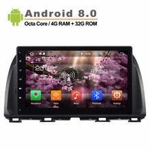 8 Core 1 6GHz Android 8 0 Car GPS Player for Mazda Atenza Mazda CX 5
