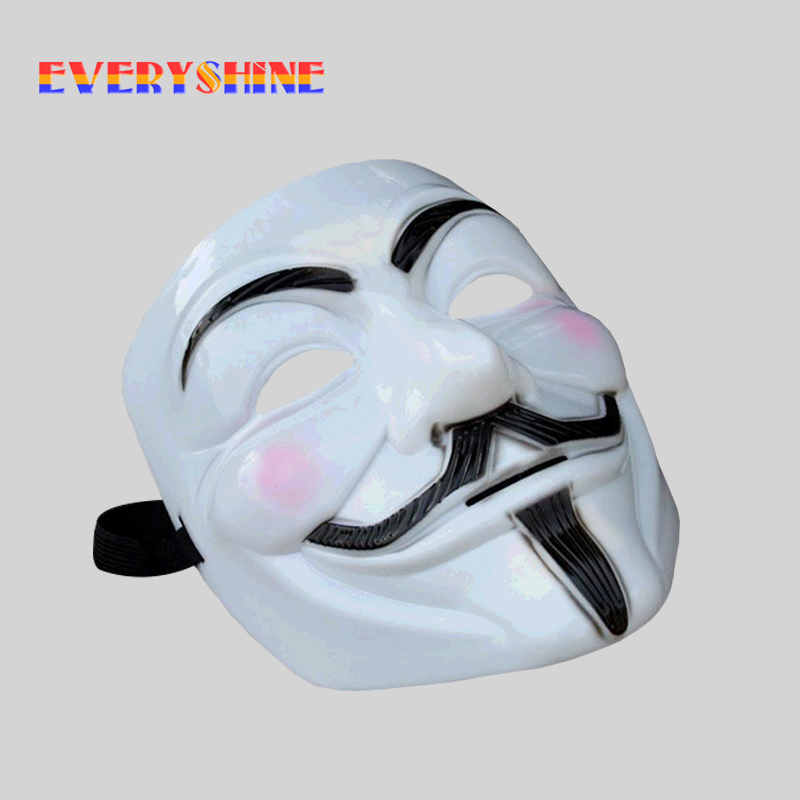 Big promotion for v for vendetta mask 1 pcs and get free shipping