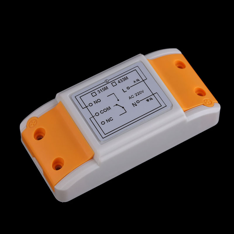 Superior Electrical Equipment Supplies Accessories AC220V 1CH 1 Receiver and 2 Button RF Wireless Transceiver AA
