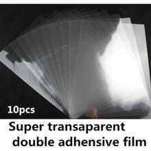 Прозрачная Двухсторонняя клейкая пленка штук как образец A4/A3 размер с сильным клеем