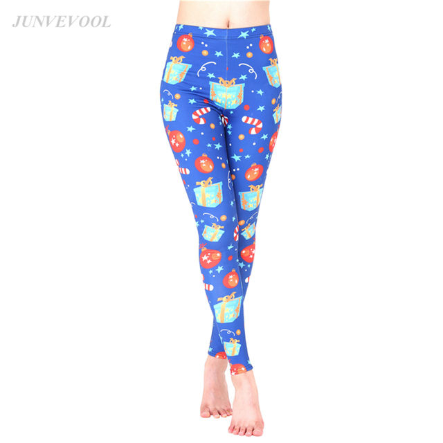 4b6775ceab5e New Arrival Women Leggings Best Gift in 2017 Christmas Sexy Elastic 3d Print  Legging Gothic Cute High Quality Mujer Pencil Pants