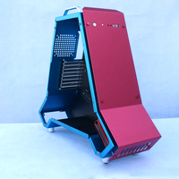 Best computer gaming case full tower pc desktop water cooler chassis aluminum Game case support server Micro ATX ITX E ATX board