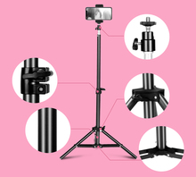 Photo 68CM(26in) Light Stand Tripod With 1/4 Screw Head For Photo Studio Softbox Video Flash Umbrellas With Hot Shoe Phone Clip стоимость