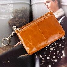 New Women Wallets Genuine Leather Wallet Holder Bestselling Short Wallet Women's Interior Key Chain Coin Purse ID Holder