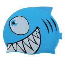 Cartoon Silicone Kid Swimming Cap