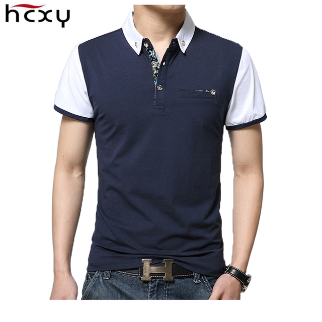 Hot sell Polo Shirt Men 2016 Fashion Short Sleeve Polos shirt Hombre Camisa Cotton polo shirts top tee Wholesale