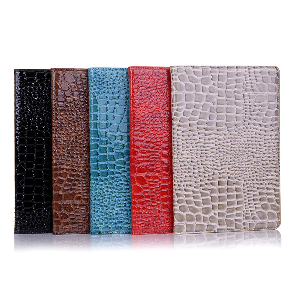 Crocodile Pattern Leather Smart <font><b>Case</b></font> for Samsung Galaxy Tab S5e 10.5 2019 Cover <font><b>T720</b></font> T725 SM-<font><b>T720</b></font> <font><b>Case</b></font> Funda + Screen Protector image