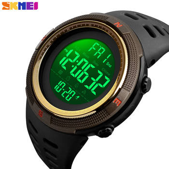 SKMEI Waterproof Mens Watches New Fashion Casual LED Digital Outdoor Sports Watch Men Multifunction Student Wrist watches 1