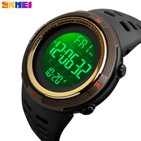 SKMEI Waterproof Mens Watches New Fashion Casual LED Digital Outdoor Sports Watch Men Multifunction Student Wrist watches Lahore