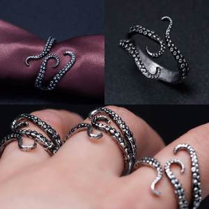 DOACCITMK Gothic Finger Ring Jewelry Opened Adjustable Size