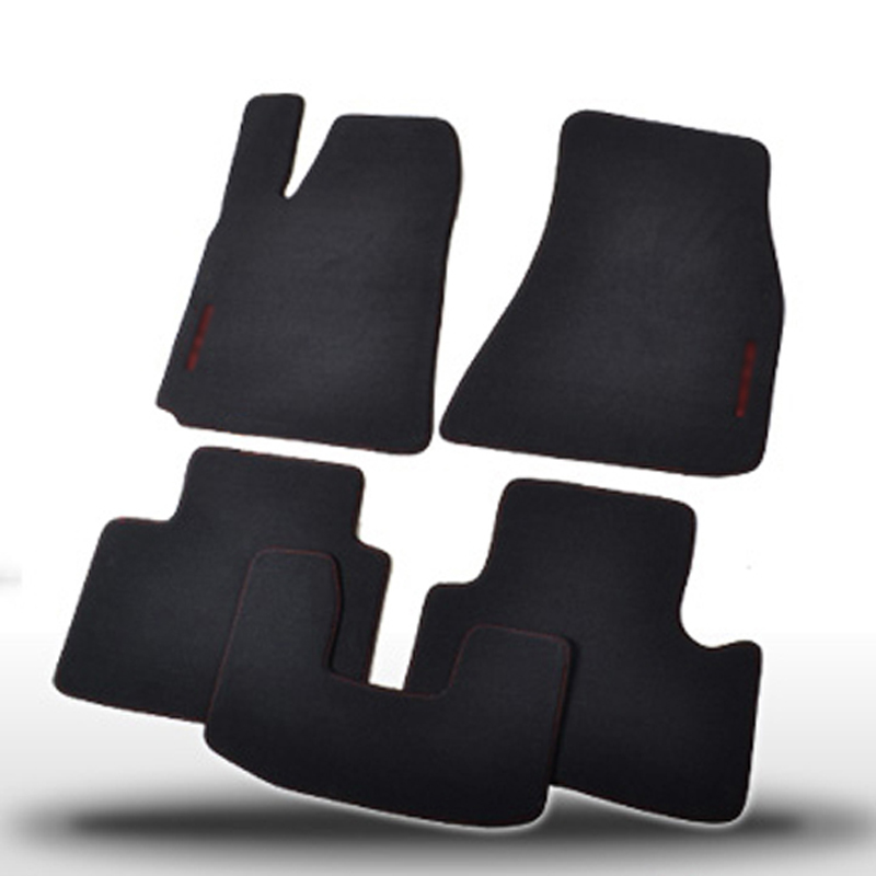 Solid Nylon Auto Odorless Floor Mats Liner Carpet Fitted For <font><b>Chrysler</b></font> <font><b>300C</b></font> 2004-2019 image
