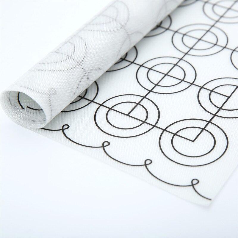 XINYUN Silicone macarons mat heat resistant silicone fiberglass baking mat,macaron silicone mold