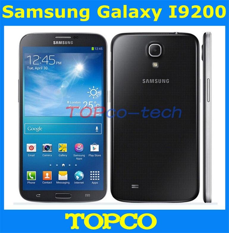 Цена за Оригинальный Разблокирована Samsung Galaxy Мега 6.3 I9200 GSM 3 Г двухъядерный Android телефон 6.3 ''WIFI GPS 8MP мобильный телефон дропшиппинг