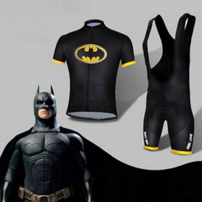 Hot Sale Batman Cycling Jersey Kits Batman Bicycle Short