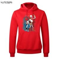 Men Hoodies undertale sans and papyrus hoodie Skateboard sudadera hip hop Women undertale Lovers Sweatshirt Sportswear