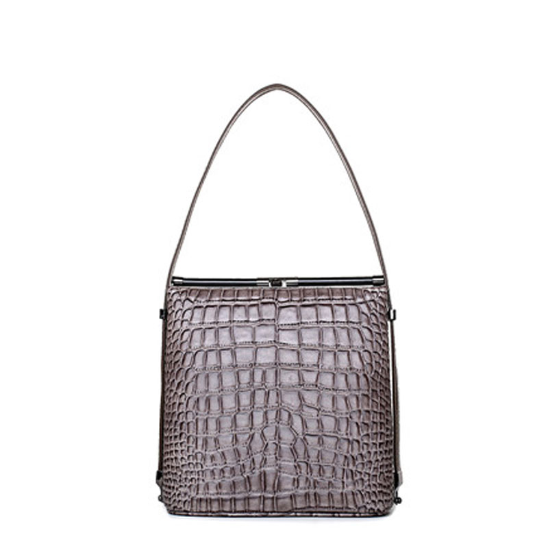 ФОТО 2017 new women bag handbags fashion simple small bags Croco Leather handbag women messenger bags Free shipping crocodile pattern