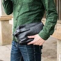 Wmnuo Brand Men Hand Bag Men Handbag Genuine Leather Soft Sheepskin Large Capacity Men Clutch Wallets Purse 2018 Casual Men Bag