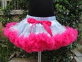 Retail skirt free shipping hot sale chiffon fluffy baby pettiskirts tutu skirt KP-PETS060