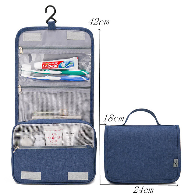 Civil Aviation Shower Bag Cosmetic Bag make-up Cases Beauty bath Tour Hanging Organizer portable Washing  toiletry Storage bags 2
