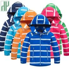 Children jacket Boys Girls Windbreaker Fleece Lined Waterproof Jacket with Hood kids coats Rain Coat Outdoors toddler jacket