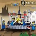 Enlighten Замок Образовательные Строительные Блоки Игрушки Для Детей детские Подарки Рыцарь Оружие Совместим С Лепин